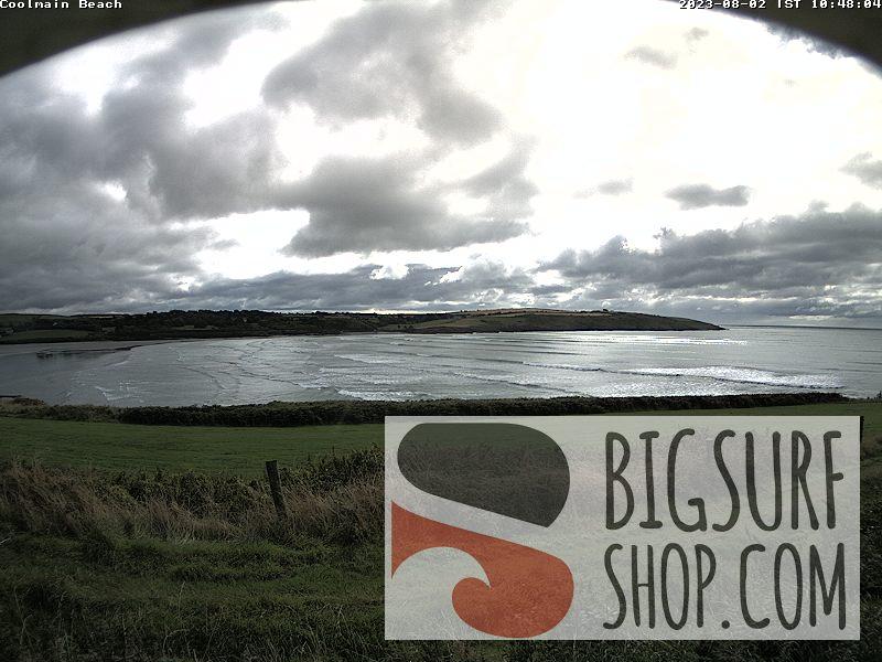 Kilbrittain webcam - Coolmain Beach, Kilbrittain webcam, South-West Region, County Cork